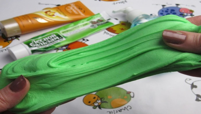 Зеленый лизун