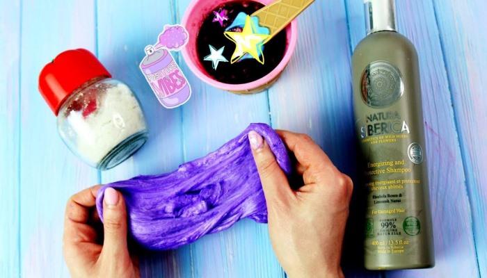 Фиолетовый слайм