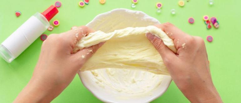 Слайм из соды своими руками